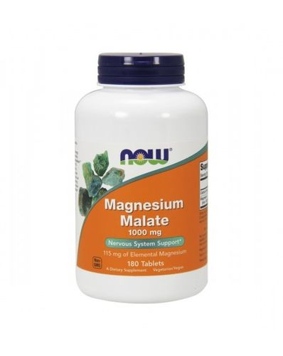 Magnesium Malato 1000mg 180Comp Now