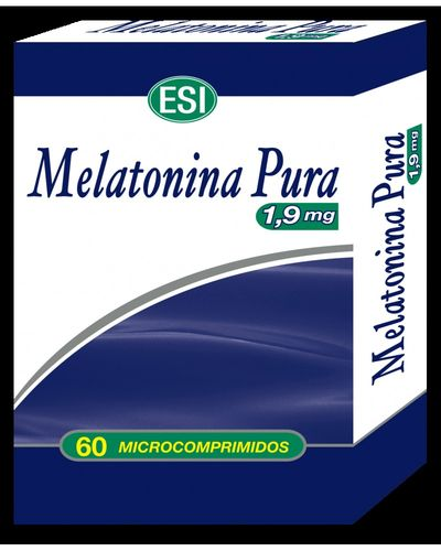 Melatonina Pura 1,9mg 60 Microcomprimidos